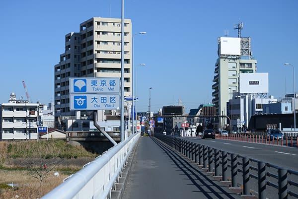 神奈川・東京県境