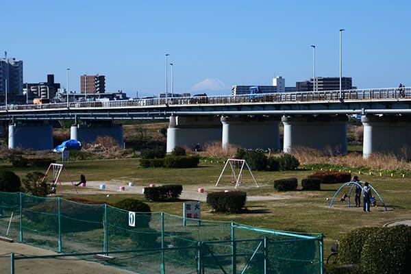 多摩川ガス橋