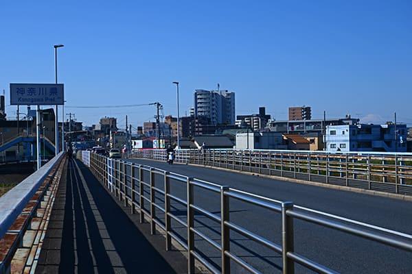 東京・神奈川県境