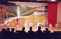 タイヤル族の歌舞ショー