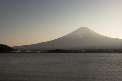富士山と河口湖大橋