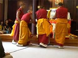 4対1の僧侶の問答