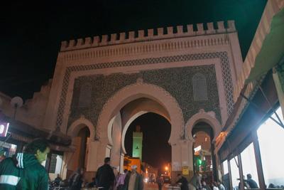 フェズのブー・ジュルード門