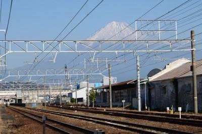 富士川駅近く