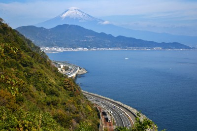 薩埵峠からの景色