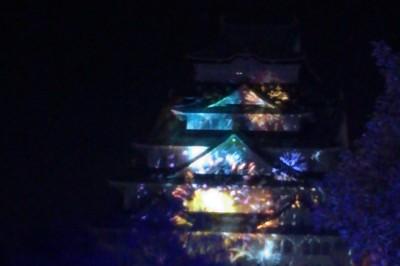 大阪城3Dマッピング スーパーイルミネーション