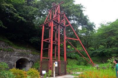 佐渡金山の櫓