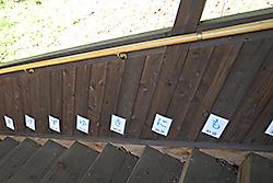 宮沢賢治記念館への階段