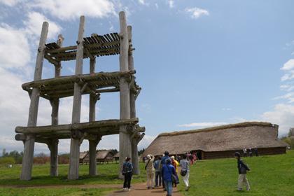 大型掘立柱建物跡