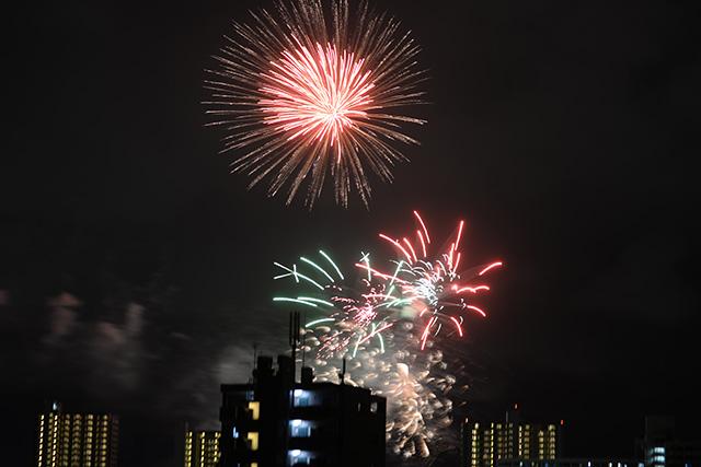 多摩川六郷花火大会