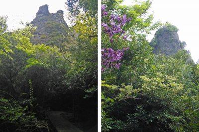 寒霞渓の表十二景